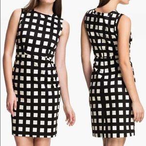 Kate Spade Lorelei Check Dress Size 8